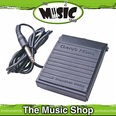 Cherub Sustain Pedal Brand New from The Music Shop!