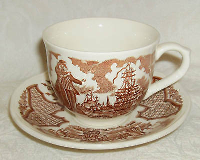 Alfred Meakin FAIR WINDS Cup & Saucer Set (s) England
