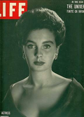 Life Magazine October 9,1950 Jean Simmons Cover