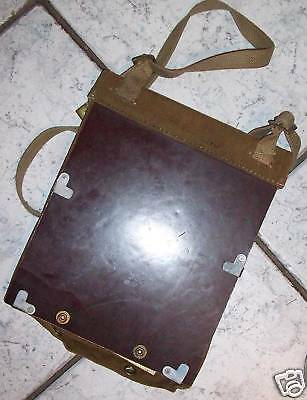 Ww2 1943 Dated Map Case - Khaki Australian Made    Mint/unissued Condition