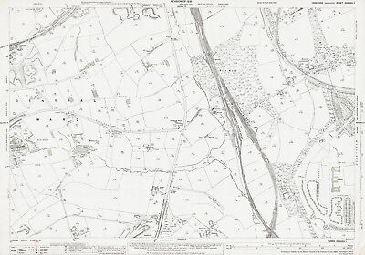 Morley (E), Middleton (W) - Yorkshire old map repro  233-1-1931