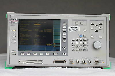 Anritsu Mt8801C Radio Communication Analyzer Opt 01,04,07