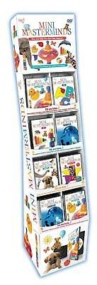 Mozart 4 Babies DVD Learning Wholesale lot of 48 with Retail Display Stand