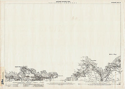 Ilfracombe (NW) - old Devon old map repro 1-13-1904