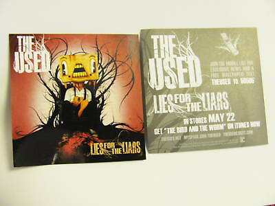 The Used Lies For The Liars Bike Board Helmet Sticker