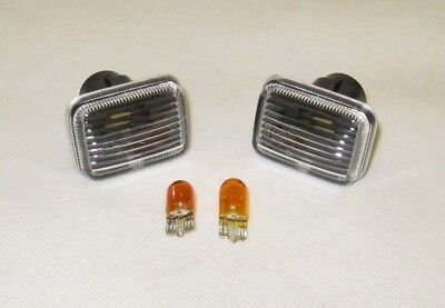 Discovery, Defender, P38A  Clear Side Repeaters+ Bulbs XGB000020, XGB100280