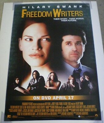 FREEDOM WRITERS DVD MOVIE POSTER 1 Sided ORIGINAL 27x40