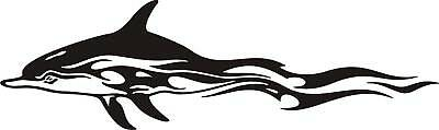 Large Dolphin Sticker  For Car, Ute,surf Board Windows