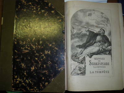 Oeuvres De Shakespeare Illustrees - Paris 1886, 3 Tomes