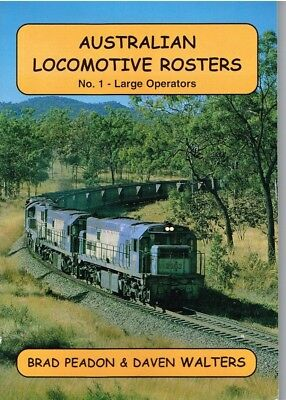 AUSTRALIAN LOCOMOTIVE ROSTER no 1 Large Operaters