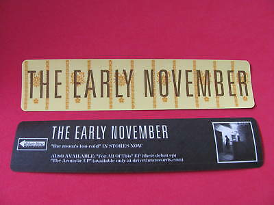 The Early November Room's Too Cold Board Bike Sticker