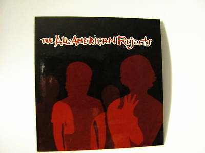 All-American Rejects Move Along Board BikePromo Sticker