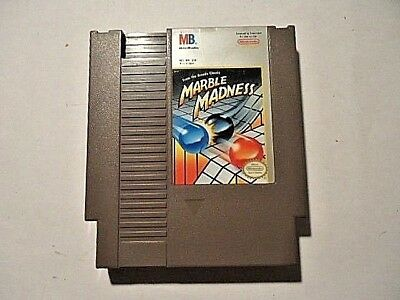 Marble Madness (Nintendo 1989) NES CLASSIC, NO BOX OR MANUAL