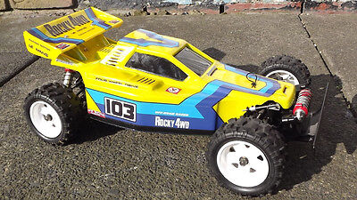Vintage Kyosho Rocky Body And Wing