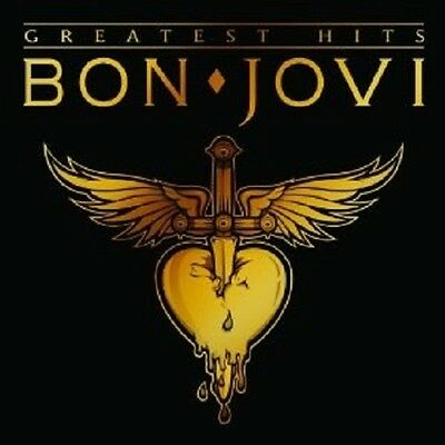 "Bon Jovi ""Greatest Hits"" Cd 16 Tracks Neu"