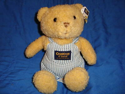 OshKosh B'Gosh Teddy Bear Bank Plush 8""