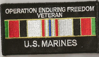 Marine Corps Afghanistan Veteran Patch - New