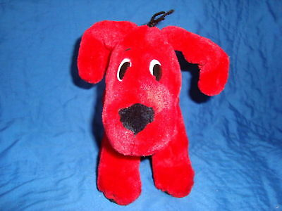 Clifford the Big Red Dog W/wired legs Plush Scholasic