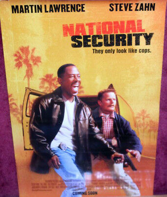Cinema Poster: NATIONAL SECURITY 2003 (One Sheet) Martin Lawrence