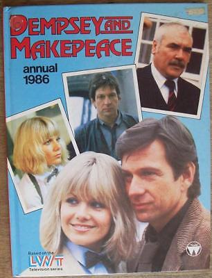 Dempsey and Makepeace Annual 1986, Hardcover.