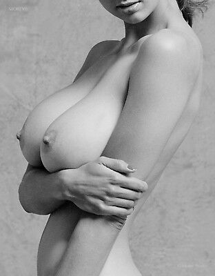 B&W Fine Art Nude Model, signed 8.5x11 photo by Craig Morey: Natalie 35647.11D