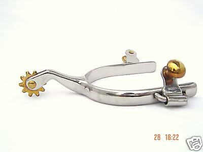 Roping Spurs Stainless Steel