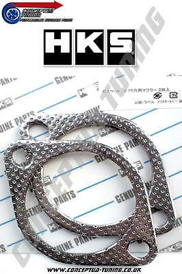 """For Early S13 200SX CA18DET 1 x HKS 3.5/"""" 86mm 4 Bolt Exhaust Gasket"""