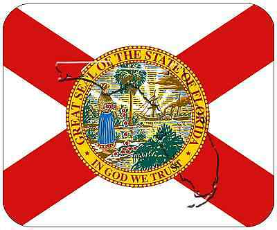 Mouse Pad State Flag Thick Mousepad - Florida