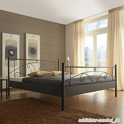 lyon metallbett schlafzimmer design bett bettgestell. Black Bedroom Furniture Sets. Home Design Ideas