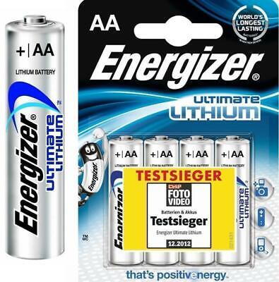 16 Energizer Ultimate Lithium AA Mignon MN1500 LR6 AM3