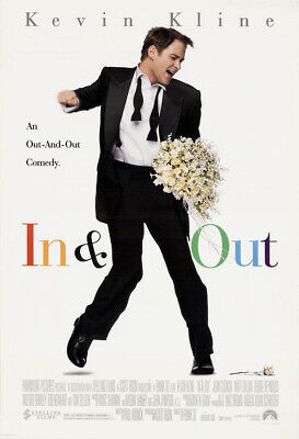 IN AND OUT MOVIE POSTER 2 Sided ORIGINAL FINAL 27x40
