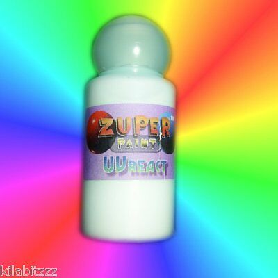 Invisible UV blacklight Visible T5 Paint -Choose colour - use 365nm