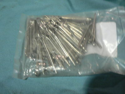1 Package Of 100 Nickel Cotter Pins  0.125 Dia X1.500In