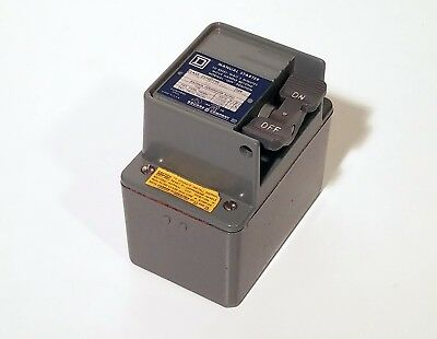 Square D FHP Manual Starter, Type FW-2 FW2 *NEW IN BOX*