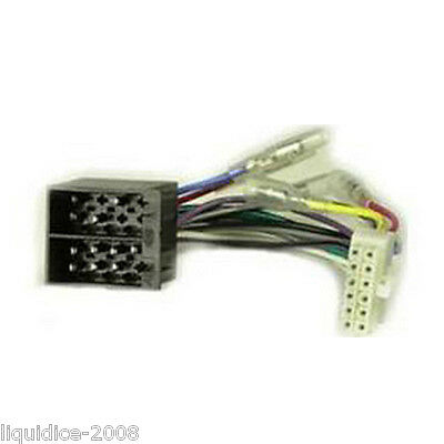 CT21CL01 CLARION 12 PIN TO ISO HEAD UNIT STEREO POWER HARNESS ADAPTOR LEAD