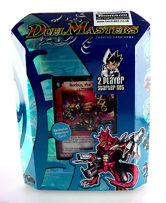 DM01 Duel Masters Trading Card Game TWO Player Starter Deck TCG Collectible NEW