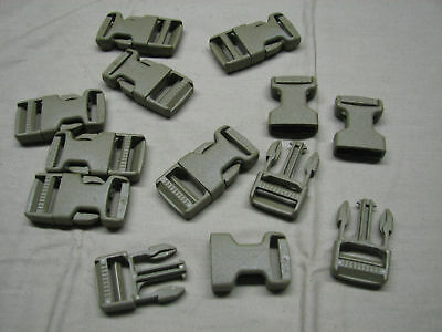 """100 military issue buckle clips snaps 1"""" quick release"""