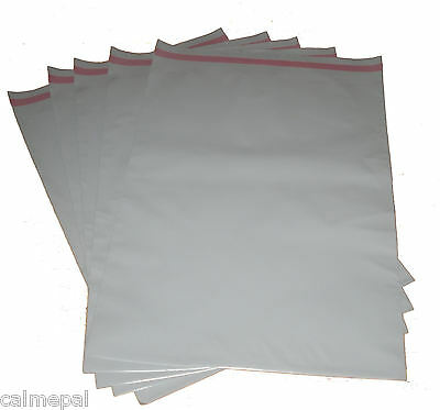 "GREY POSTAL POST MAIL MAILING BAGS 50 x   10"" x 14"""