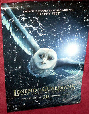 Cinema Poster: LEGEND OF THE GUARDIANS 2010 (Advance One Sheet)