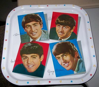 1970's Beatles Metal Tray Made in England