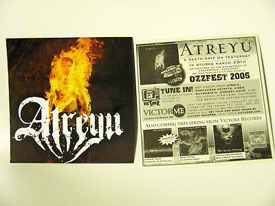 Atreyu Death Grip Yesterday Ozzfest Bike Board Sticker