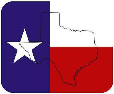 Mouse Pad State Flag Thick Mousepad - Texas