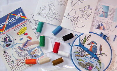 Webster Craft Punch Needle Embroidery Starter Kit Craft