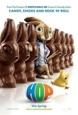 HOP MOVIE POSTER 2 Sided ORIGINAL Advance 27x40