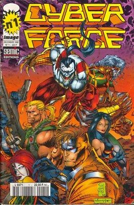 CYBER FORCE N° 1 comics SEMIC