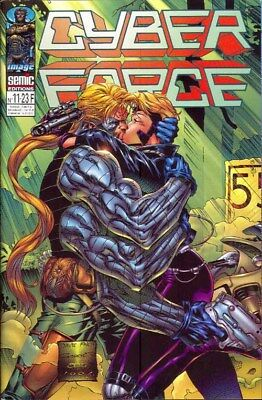 CYBER FORCE N° 11 comics SEMIC