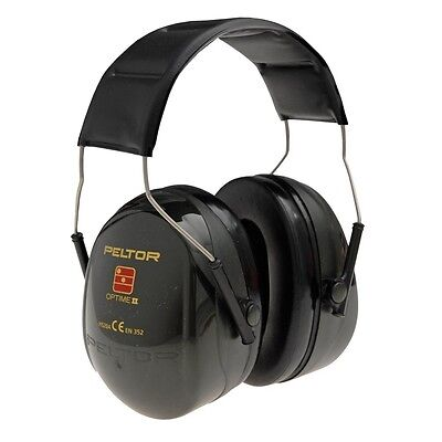 3M PELTOR Optime II H520A Premium Quality Ear Defender Muffs