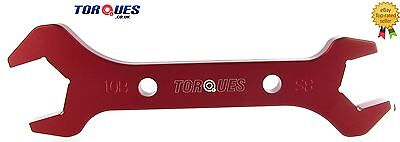 AN -10 AN10/ AN -8  AN8  Double Ended Spanner Red