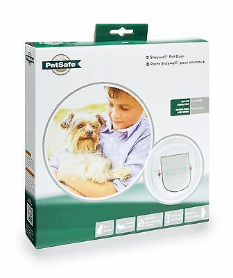 New Petsafe / Staywell 270 Big Cat Or Small Dog Pet Flap Door - 4 Way Locking