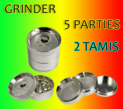 Grinder Polinator Moulin A Herbe Epice 5 Parties 55 Mm